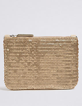 Kids' Sequin Phone Bag