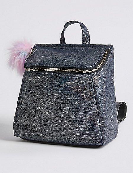 Kids' Denim Backpack