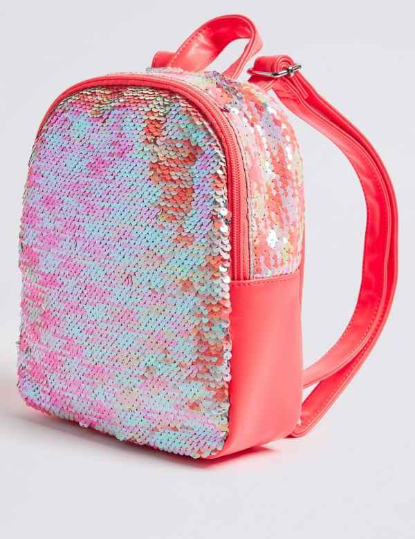 Kids  Sequin Backpack 093b2f97a659f