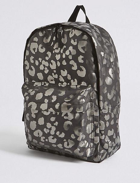 Kids' Animal Print Water Repellent Backpack