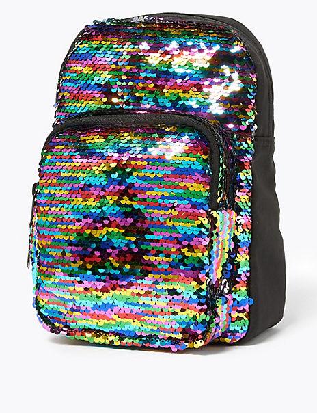 Kids' Reversible Sequin Mini Backpack