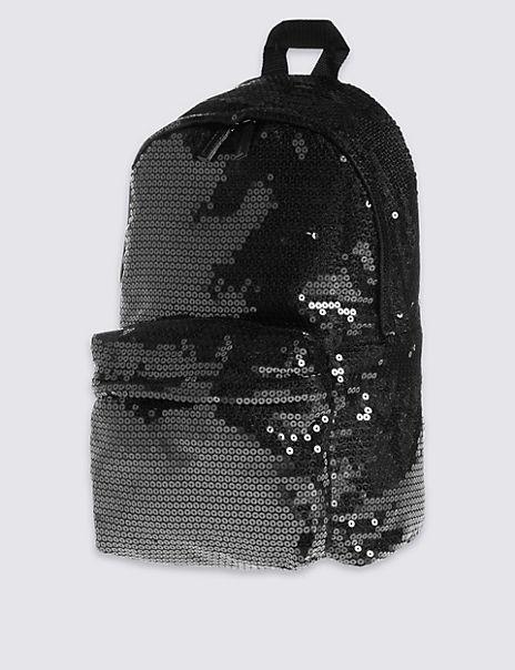 Kids' Sequin Backpack