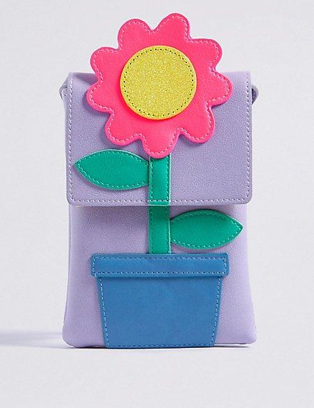 Kids' Flower Cross Body Bag