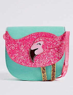 Kids' Sequin Cross Body Bag