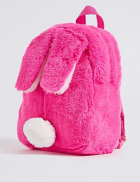 Kids  Faux Fur Bunny Backpack  3ea54ea37d064