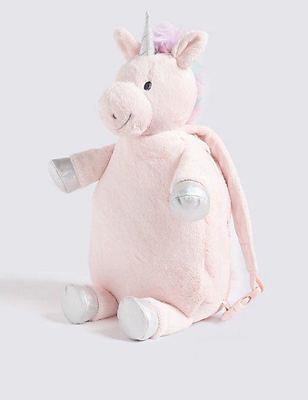 Kid's Unicorn Plush Backpack