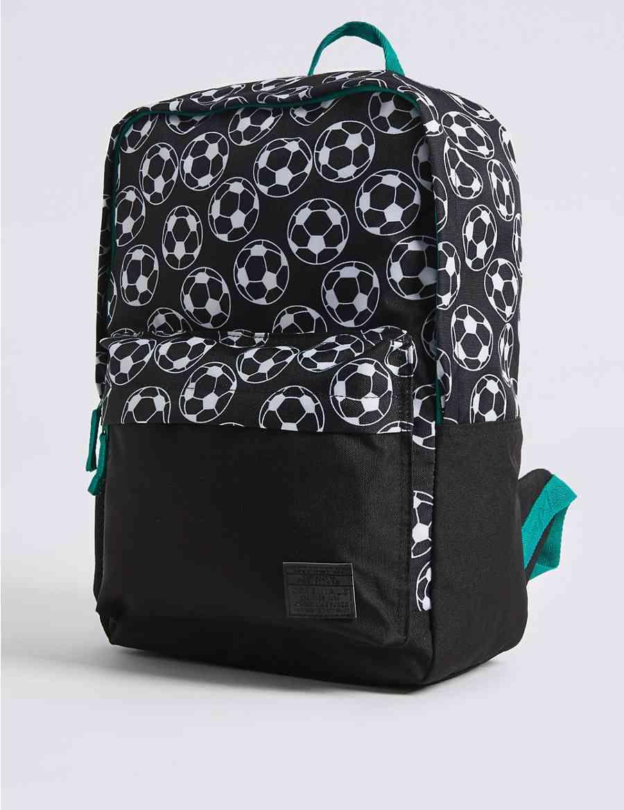 b8ffe894ef Kids  Football Print Backpack