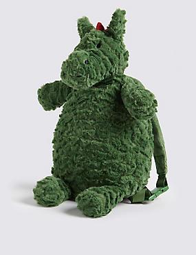 Kids' Dinosaur Plush Backpack
