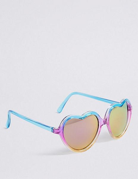 Kids' Heart Sunglasses