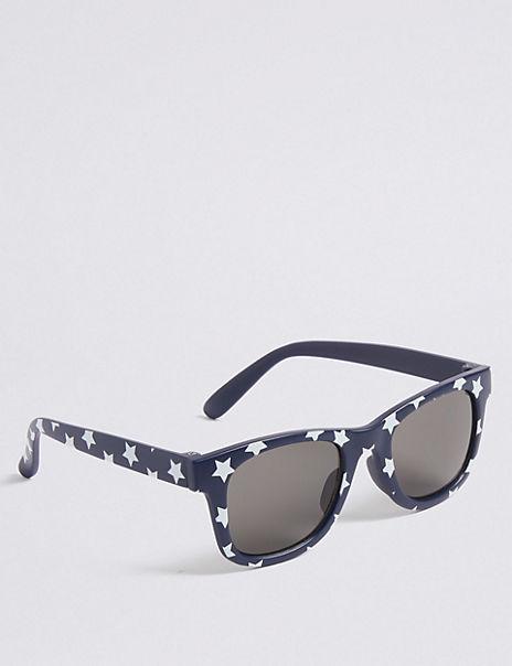 Kids' All Over Print Star Sunglasses