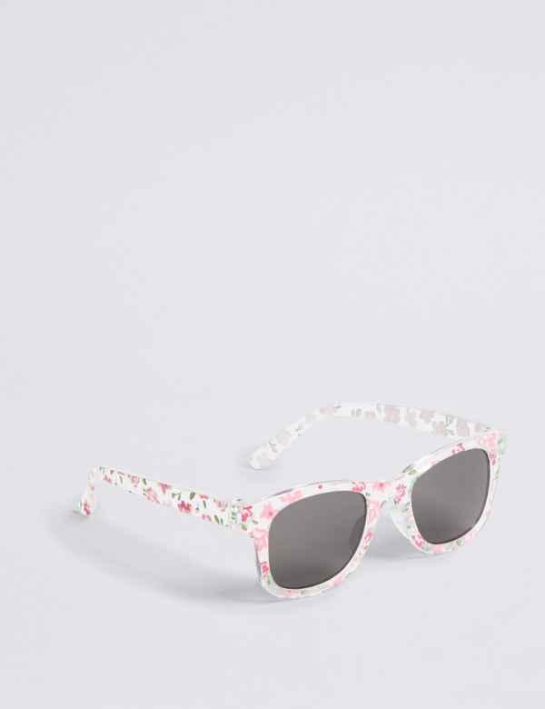 d93a4fb6fb7a Kids' Wayfarer Floral Sunglasses (3-6 Years)