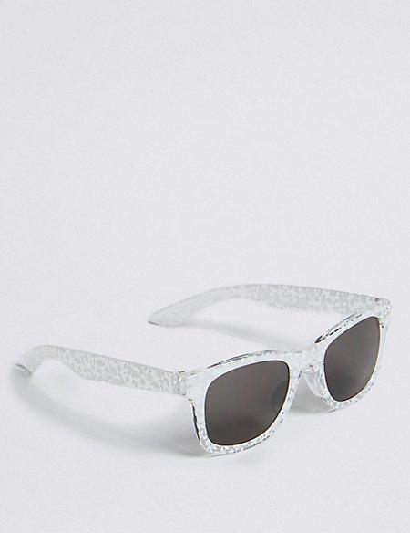 Floral Print Sunglasses