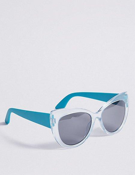 Sun Smart Cat Eye Sunglasses