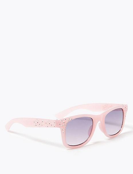 Kids' Bling Wayfarer Sunglasses