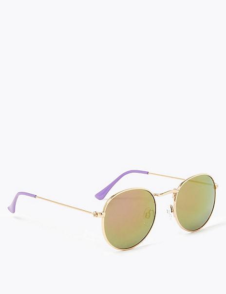 Kids' Metal Round Sunglasses