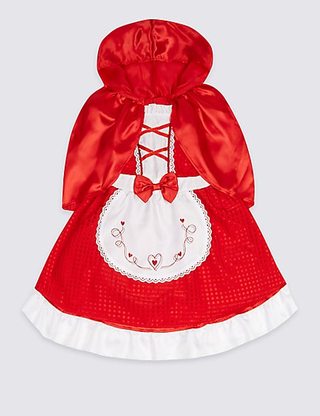 Kids' Riding Hooded Dress Up