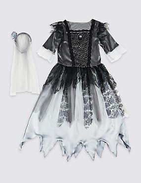 Kids' Zombie Bride Dress Up