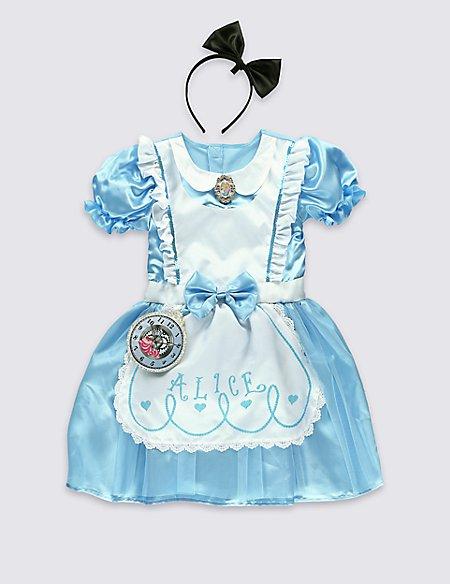 Kids Alice In Wonderland Dress Up Costume M S