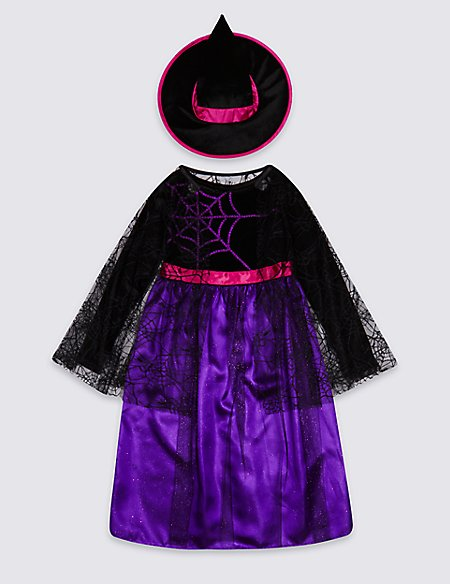 Kids' Witch Fancy Dress Up