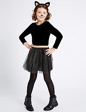 Kids' Cat Tutu Fancy Dress Up