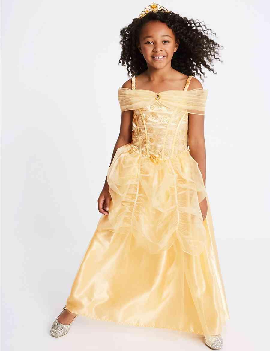 f318d56fb8148b Kids  Disney Princess trade  Belle Dress Up