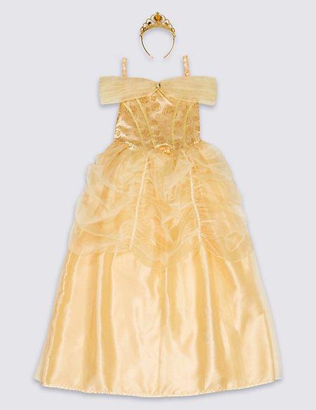 Kidsu0027 Disney Princessu0026trade; Belle Dress Up  sc 1 st  Marks u0026 Spencer & Kidsu0027 Disney Princess™ Belle Dress Up | Mu0026S