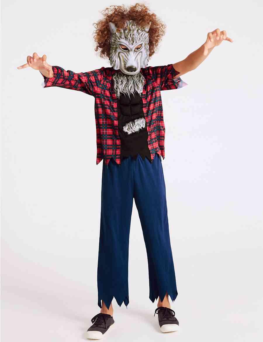 a41986395945b Kids  Werewolf Dress Up
