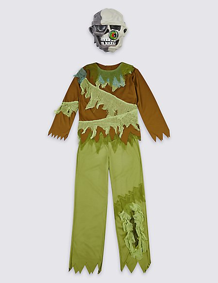Kids' Zombie Fancy Dress Up