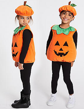 kids pumpkin fancy dress