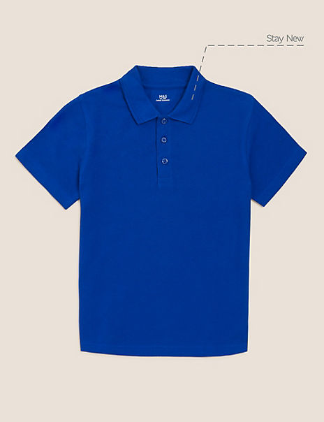 Unisex Pure Cotton Polo Shirt