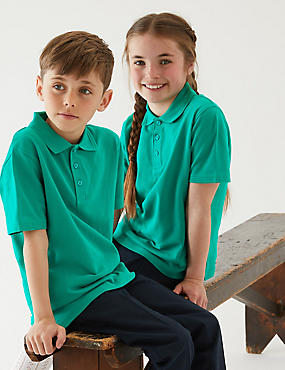 Unisex Pure Cotton Polo Shirt