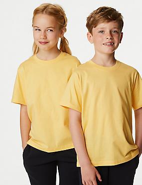 Unisex-T-Shirts aus reiner Baumwolle (2–16 Jahre)