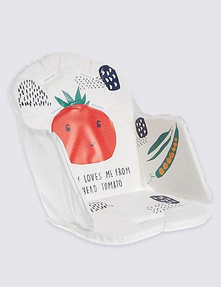Tomato Highchair Cushion