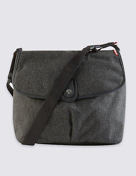 Satchel Tweed Bag