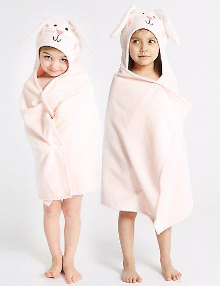 Rabbit Hooded Towel