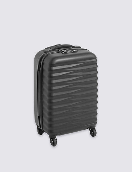 Cabin 4 Wheel Essential Hard Suitcase with Security Zip