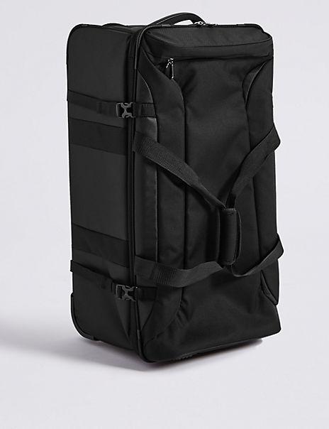 Large 2 Wheel Soft Casual Voyageur Suitcase