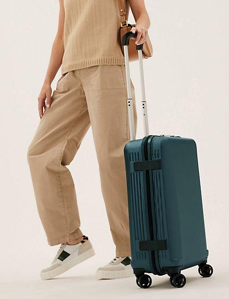 Cabin 4 Wheel Ultralight Hard Suitcase with Security Zip