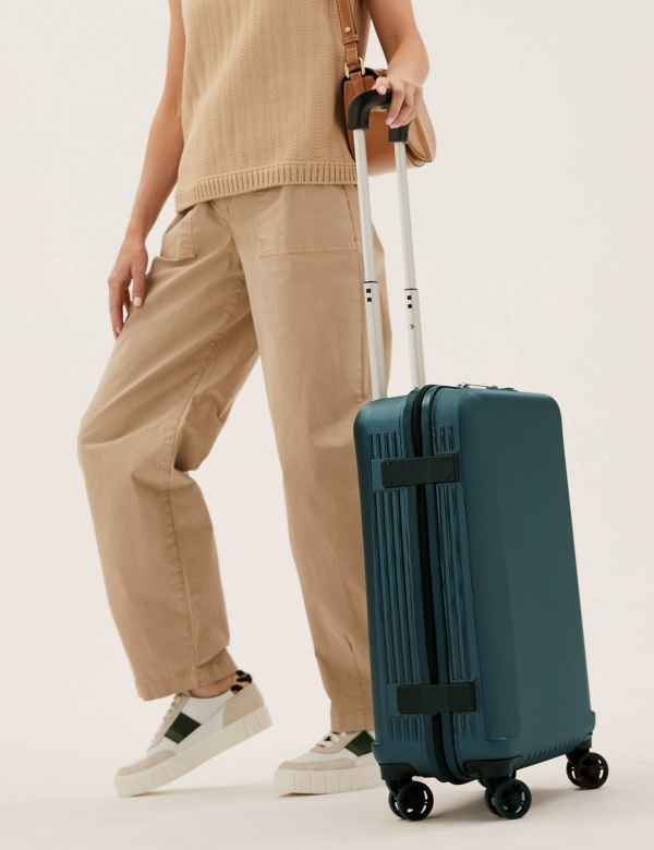 4dc7f6ac8af Cabin 4 Wheel Ultralight Hard Suitcase with Security Zip
