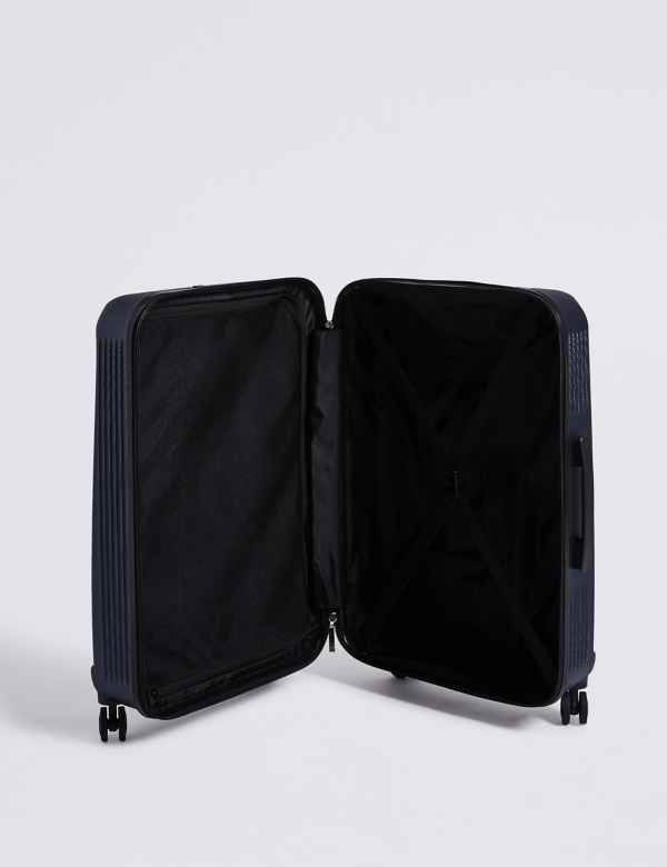 6579bd4e7 Medium 4 Wheel Ultralight Hard Suitcase with Security Zip