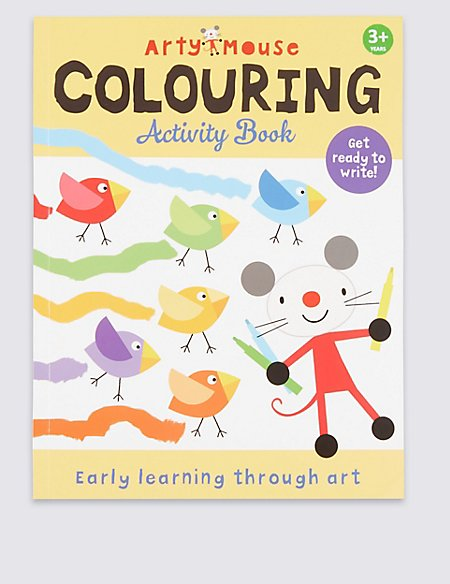 Arty Mouse Colouring Activity Book