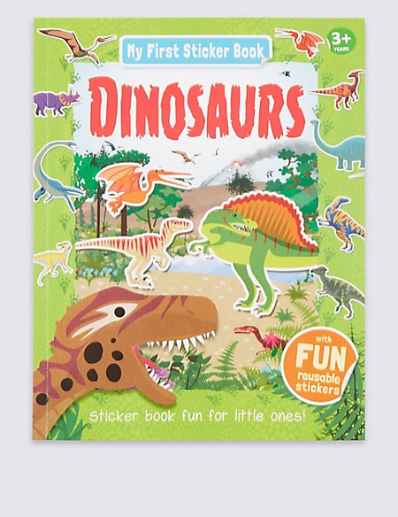 My First Learning Dinosaurs Activity Book