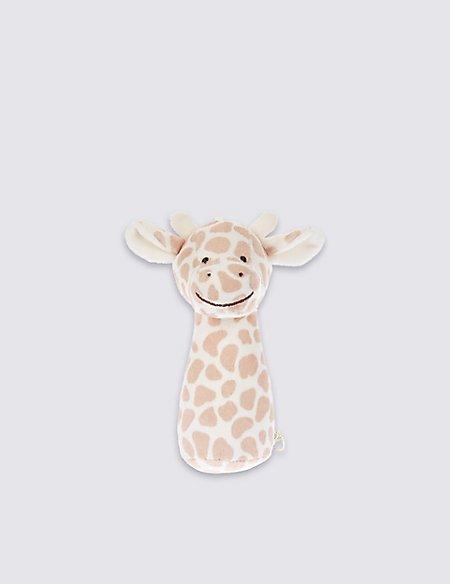 Giraffe Squeeker Stick