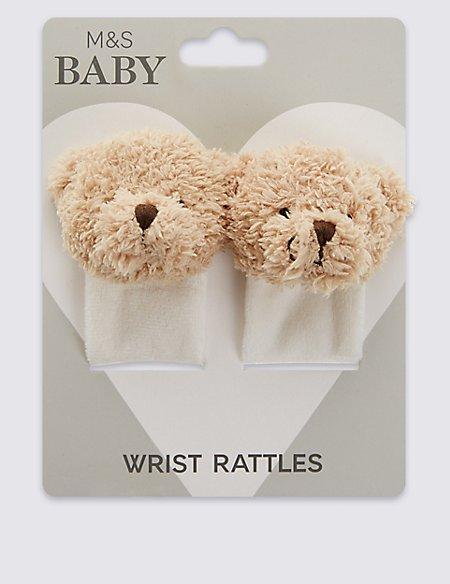 Bear Wrist Rattle