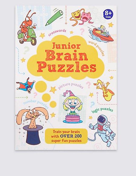 Junior Brain Puzzle Book