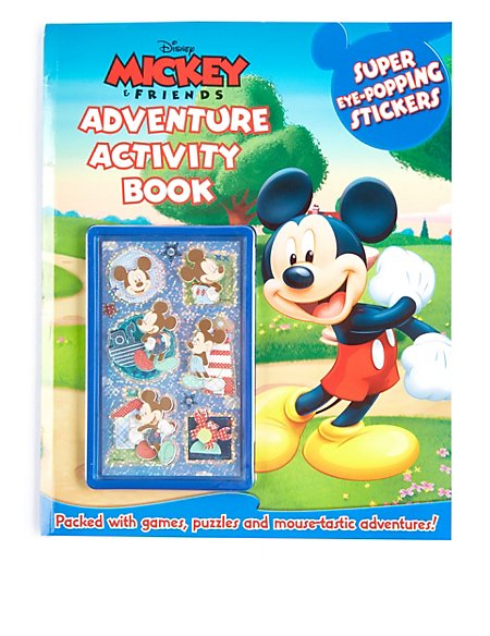 Disney Mickey Mouse Sticker Activity Book
