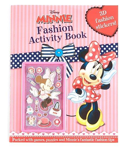 Disney Minnie Mouse Sticker Activity Book