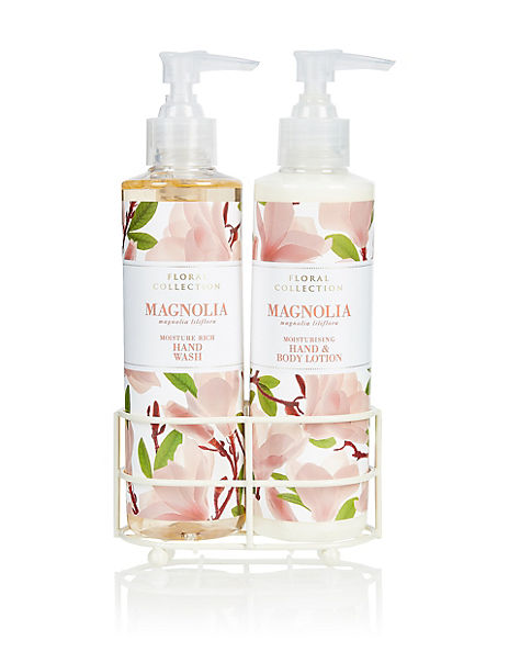 Magnolia Hand Wash & Lotion Set
