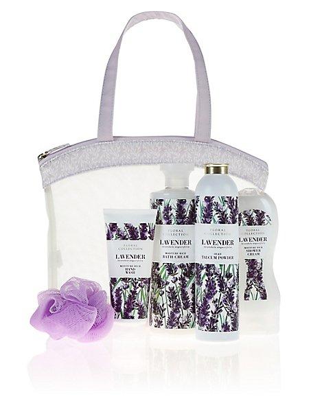 Lavender Toiletry Bag