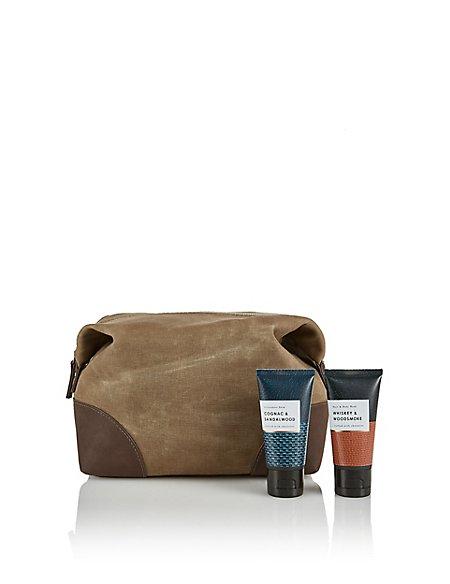 Whiskey & Woodsmoke Wash Bag